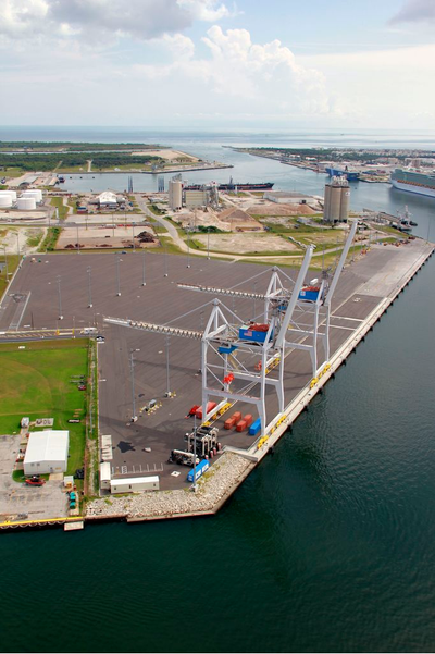 Photo courtesy of Canaveral Port Authority