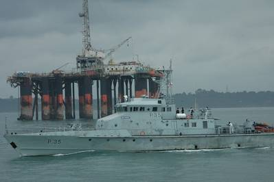 Photo courtesy of Ghana Navy