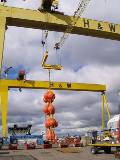 Photo courtesy of Harland and Wolff