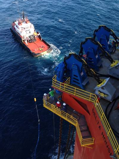 Offshore hookup and commissioning process