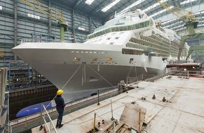Photo credit Meyer Werft