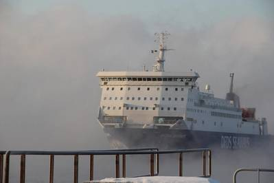 Photo: DFDS