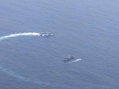 (Photo: Ecuador's Navy)