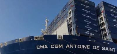 Photo from CMA CGM Twitter Page
