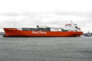 Photo: Gaschem Nordsee, Source: Meyer Werft