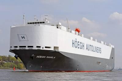 Photo: Höegh Autoliners