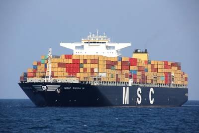 Photo: Mediterranean Shipping Company (MSC)