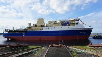 (Photo: Nevsky Shipyard)