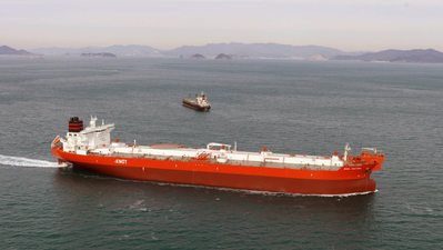 Photo of Bodil Knutsen, a current ship within the Knutsen fleet. (Photo: Knutsen NYK Offshore Tankers AS)