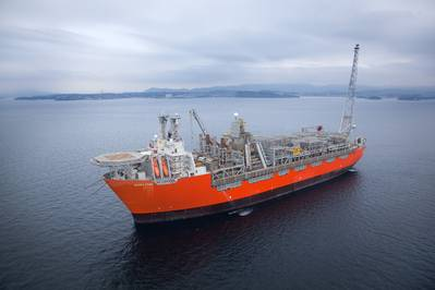 Photo of BP Norge's Skarv FPSO - courtesy of BP Norge