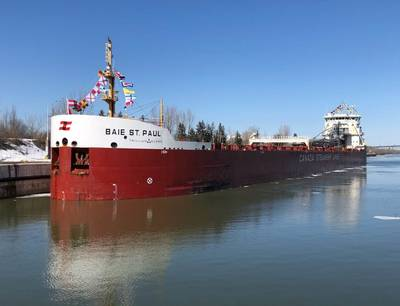 (Photo: St. Lawrence Seaway Management Corporation)