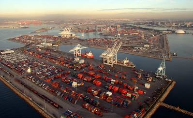 Pier 'J': Photo courtesy of Port of Long Beach