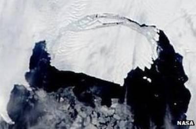 Pine Island Iceberg: Image credit NASA
