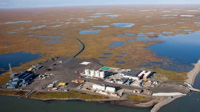 Point Thomson reservoir holds an estimated 8 trillion cubic feet of natural gas and 200 million barrels of natural gas condensate, a high quality hydrocarbon similar to kerosene or diesel Courtesy ExxonMobil