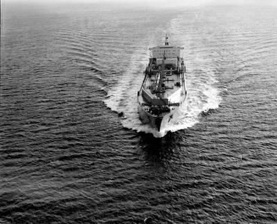 """Polar Alaska"", transporting the first cargo of LNG to Japan. Photo: JERA"