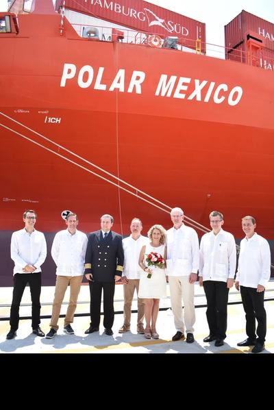 """Polar Mexico"" (Photo: Hamburg Süd)"