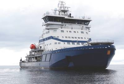 Polaris (Photo: Arctech Helsinki Shipyard)