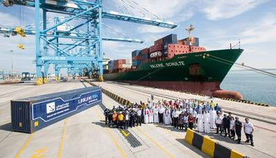 Port Kalifa celebration: Photo credit ADPC