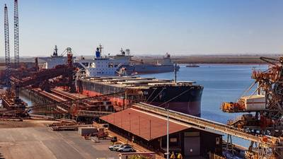 Port loading infrastructure is among the applications for which H-glide technology is suitable. Photo: Hercules Engineering