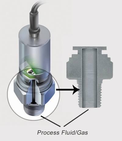 Pressure sensor: Image credit AST