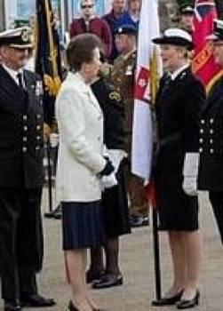 Princess Anne & Cadet Bolitho