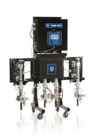 ProMix PD2K Proportioner: Image credit Graco