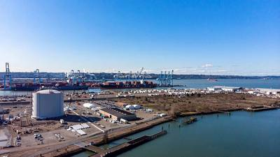 Puget Sound Energy's LNG Terminal in the Port of Tacoma (Photo: GAC)