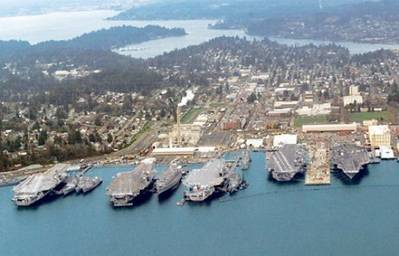 Puget Sound Naval Shipyard: Photo credit Wiki CCL