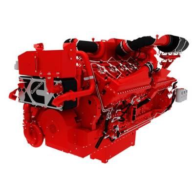 QSK50 marine engine (Photo courtesy of Cummins)