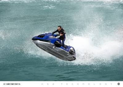 Quadski on the Water: Photo credit Gibbs