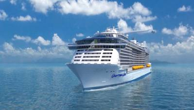 Quantum of the Seas: Rendering courtesy of RCCL
