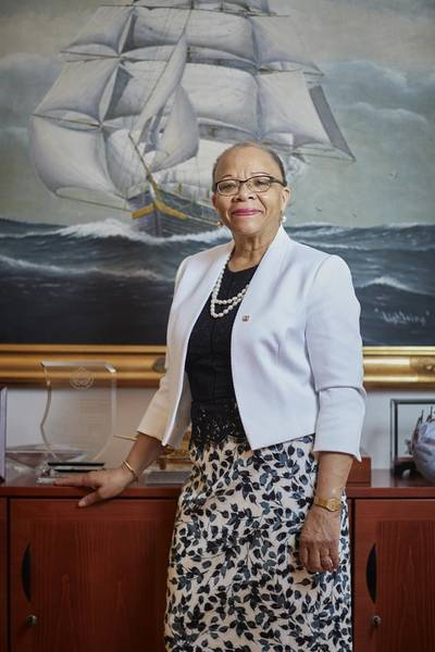 Dr. Cleopatra Doumbia-Henry, President, World Maritime University (Malmö, Sweden). Photo courtesy WMU
