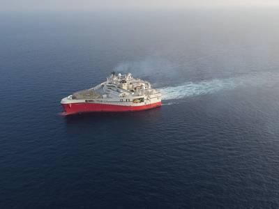 Ramform Titan is one of the 8 seismic vessels under the service agreement between Wärtsilä and PGS. Photo Wartsila