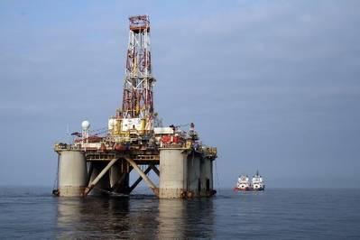 Prirazlomnaya platform: Photo credit Gazprom