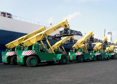 Reach Stackers Courtesy Terex Port Solutions