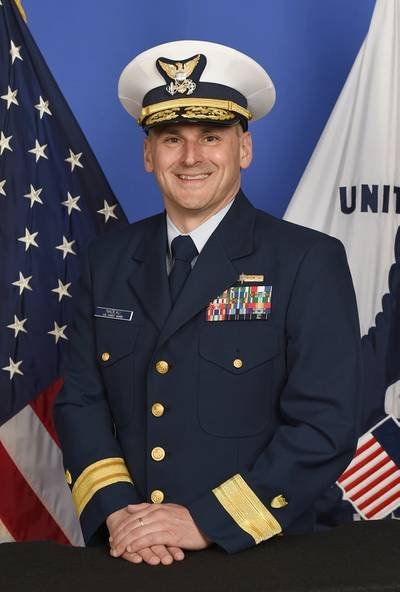 Rear Admiral John Nadeau, assistant commandant for prevention policy for the Coast Guard