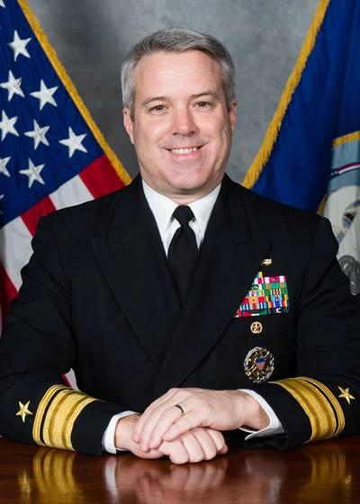 Rear Admiral Ronald A. Boxall, Director, Surface Warfare (N96) (U.S. Navy photo)