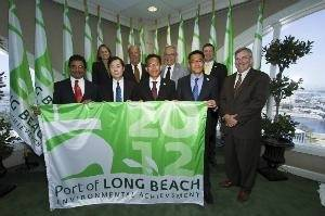 Green Flag Representatives: Photo courtesy of Port of Long Beach