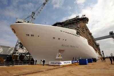 Regal Princess: Photo credit Fincantieri