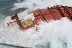 Rena Shipwreck: Photo credit Maritime New Zealand