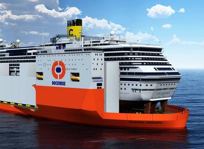 Rendering courtesy of Dockwise