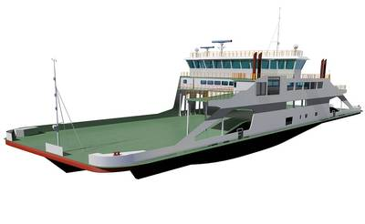 rendering of the STQ Ferry