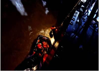 Rescue operation off the coast of Mumbai - Credit: PIB in Maharashtra