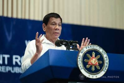 Rodrigo Duterte (Photo: RUJI ABAT/PRESIDENTIAL PHOTO)