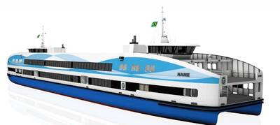 Rio ferry rendering courtesy of the designers