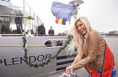 River Splendor Christening: Photo credit Vantage