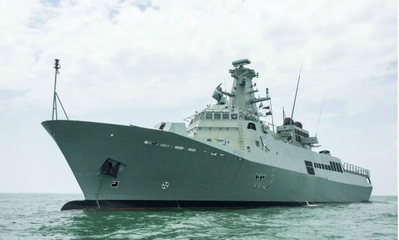 RNOV Khassab is the fourth patrol vessel (Photo: ST Marine)