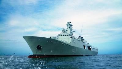 RNOV Shinas (Photo courtesy of ST Marine)