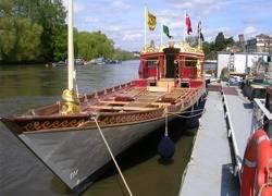 Royal Barge: Photo credit Lloyd's Register