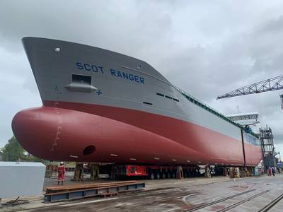 Royal Bodewes is currently building Scot Ranger at its yard in Hoogezand (Photo: Royal Bodewes)